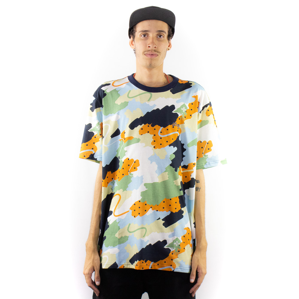 Camiseta LRG Cloud Colorido