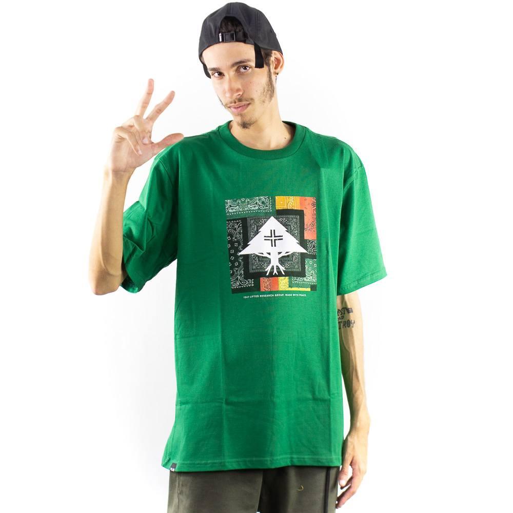 Camiseta LRG Family Verde