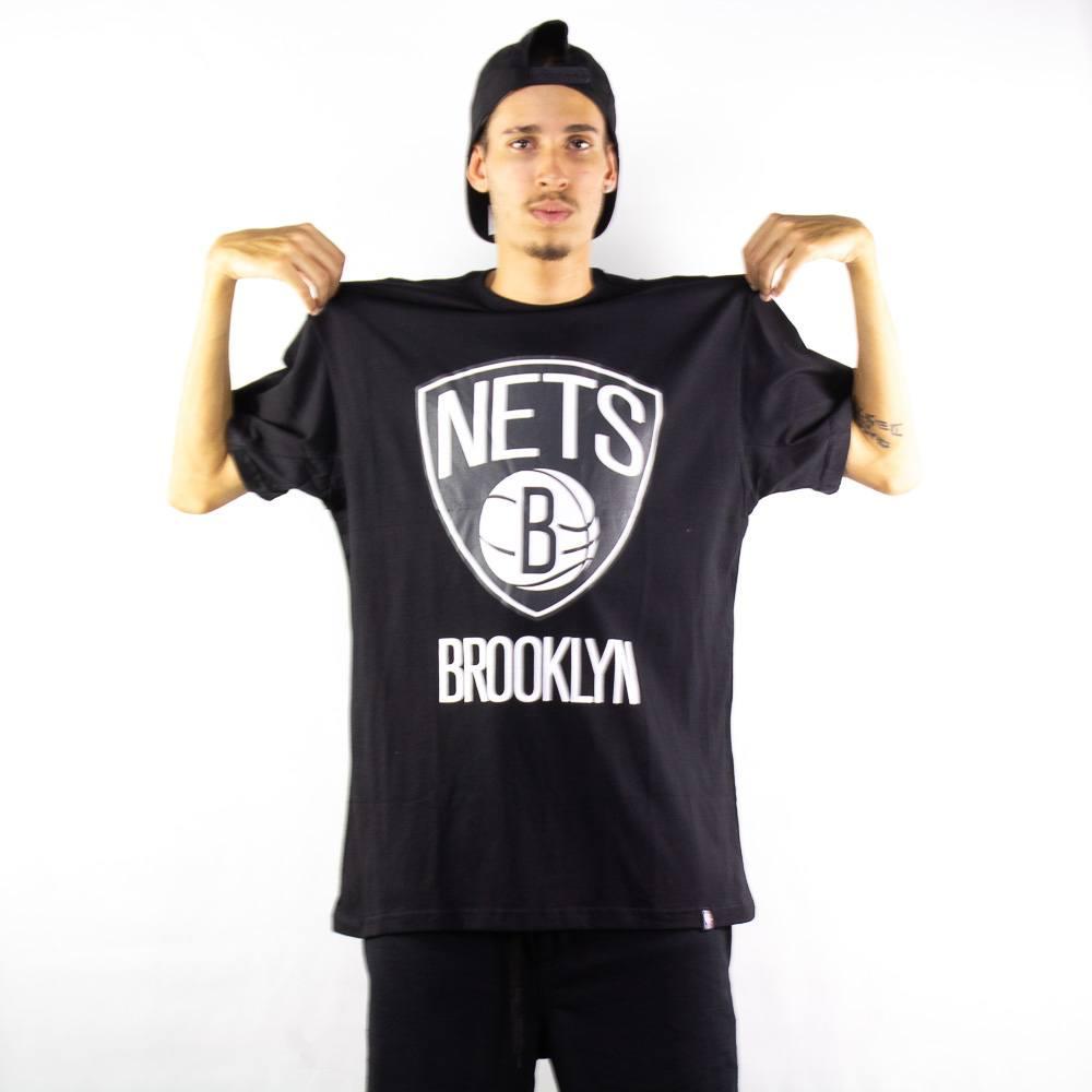 Camiseta NBA Brooklyn Nets Preta