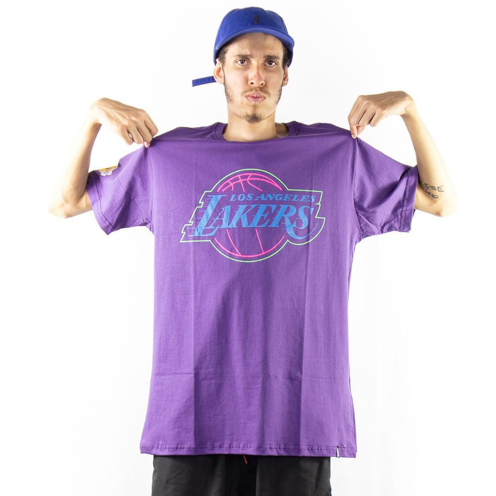 Camiseta NBA Lakers Roxo