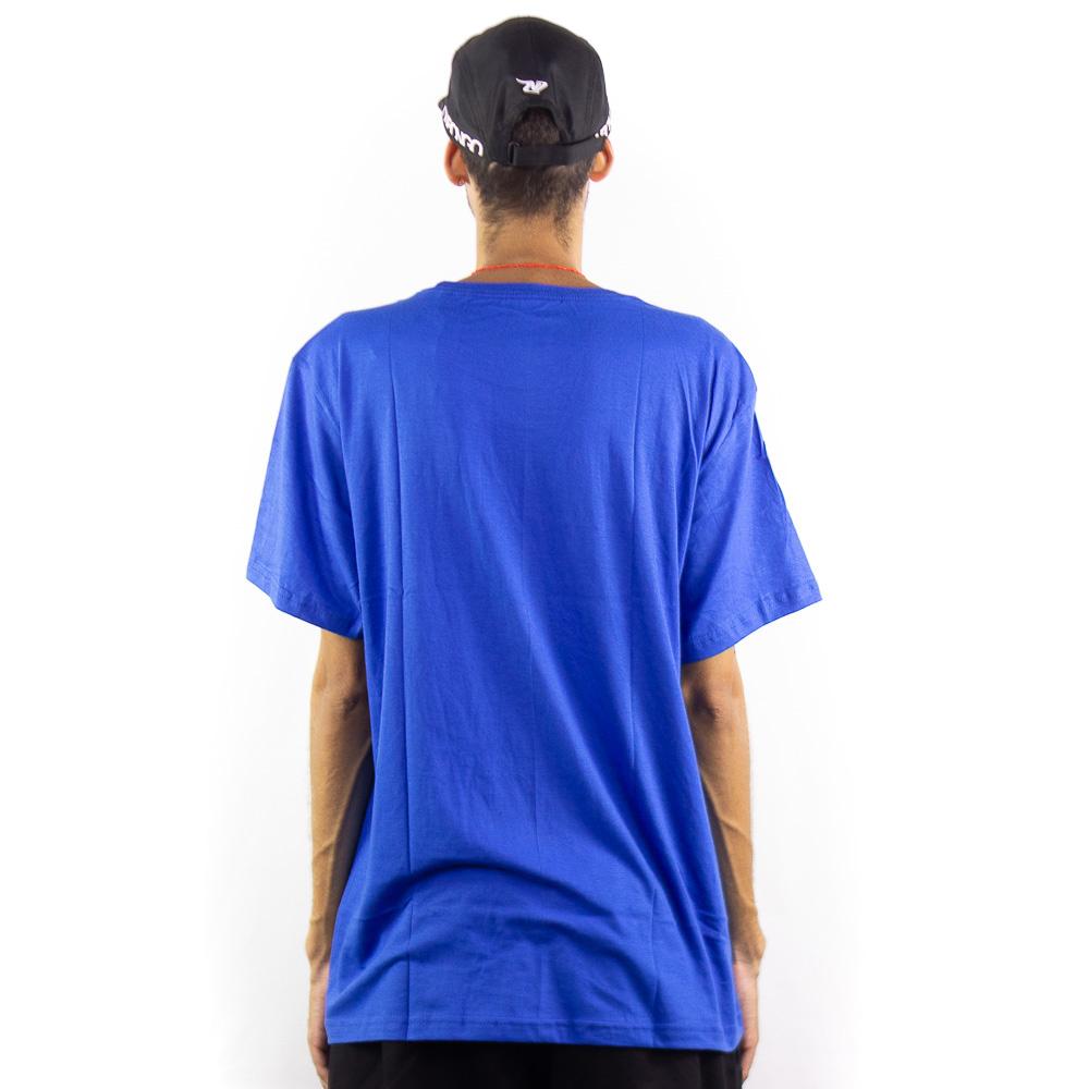 Camiseta Onbongo Masc Estampada Azul B586