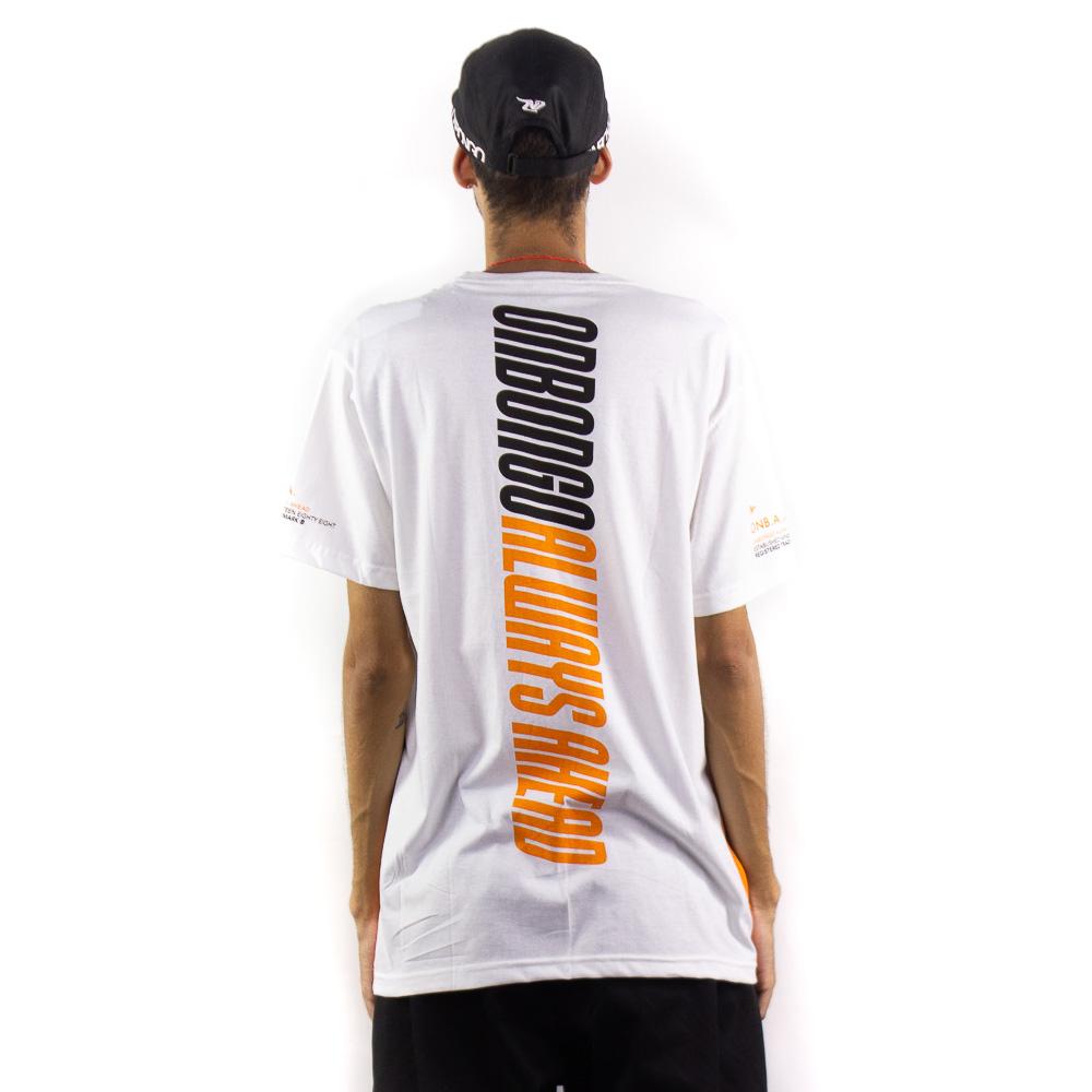 Camiseta Onbongo Masc Estampada Laranja B587