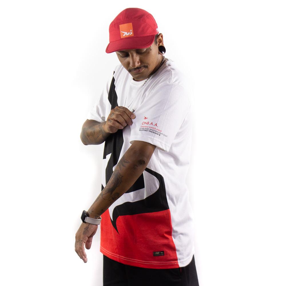 Camiseta Onbongo Masc Estampada Vermelha B587
