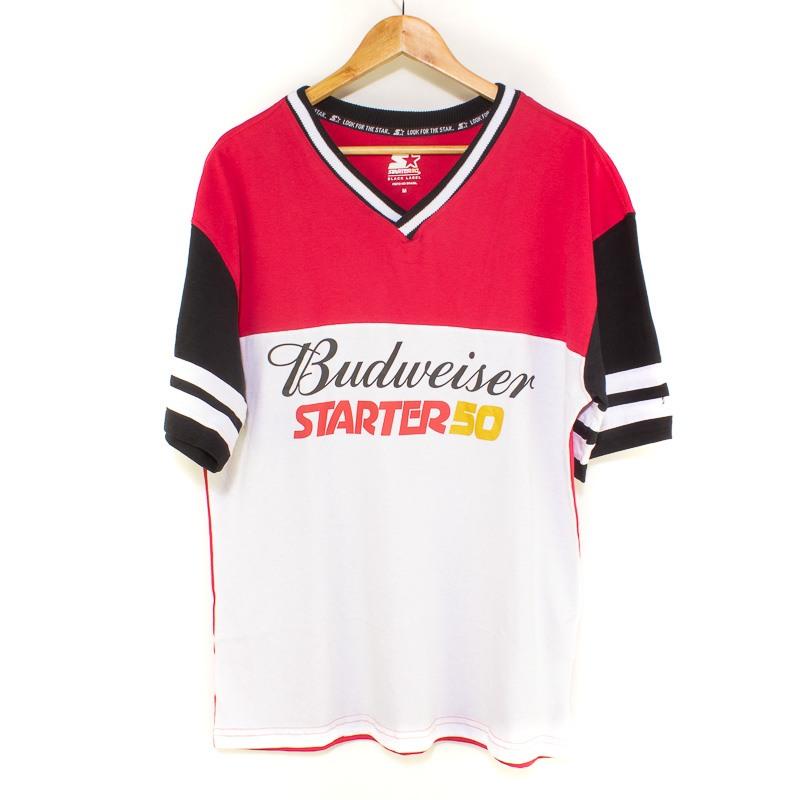 Camiseta Starter Especial Budweiser Red