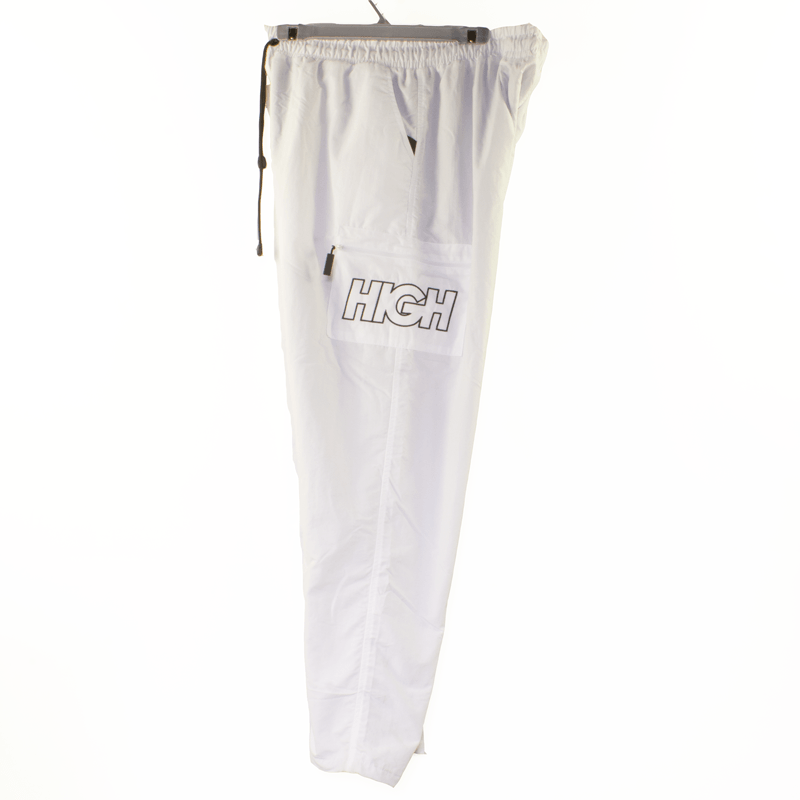 Cargo High Track Pants White