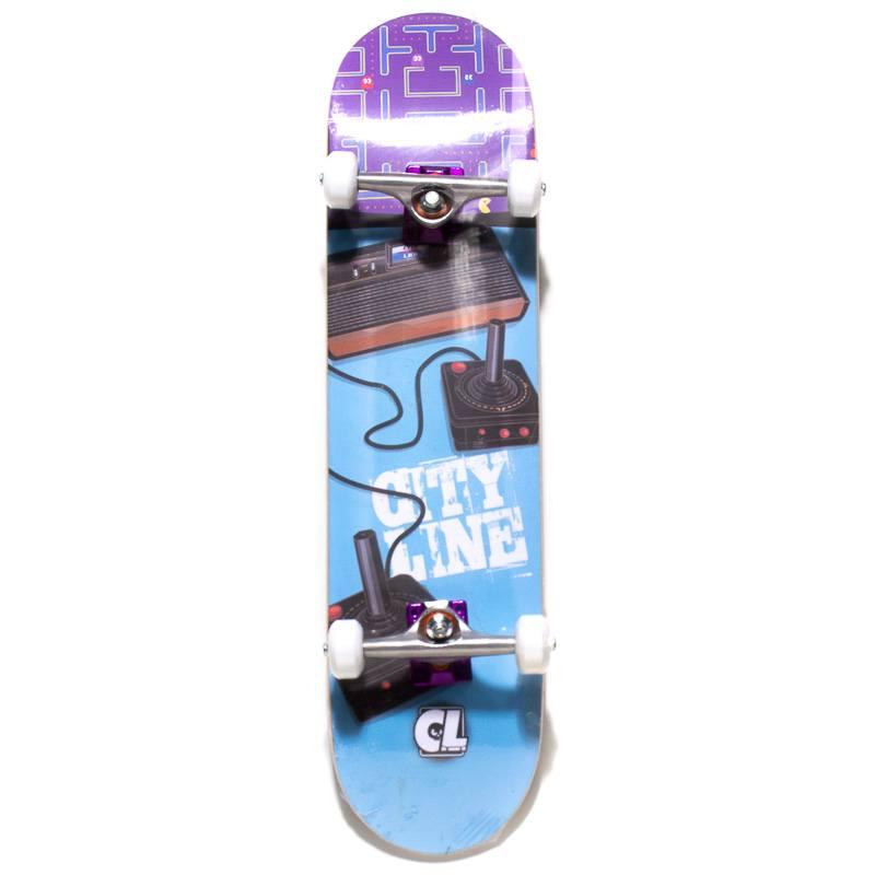 Skate Montado Cityline Azul