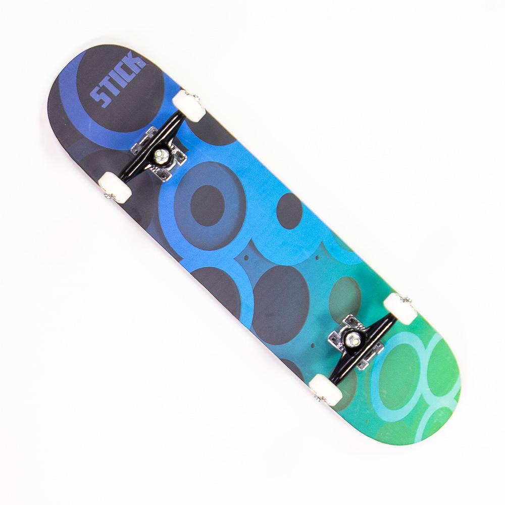 Skate Montado Stick Circulos