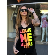 Blusa Academia Camiseta Cavada Fitness - Leave Me