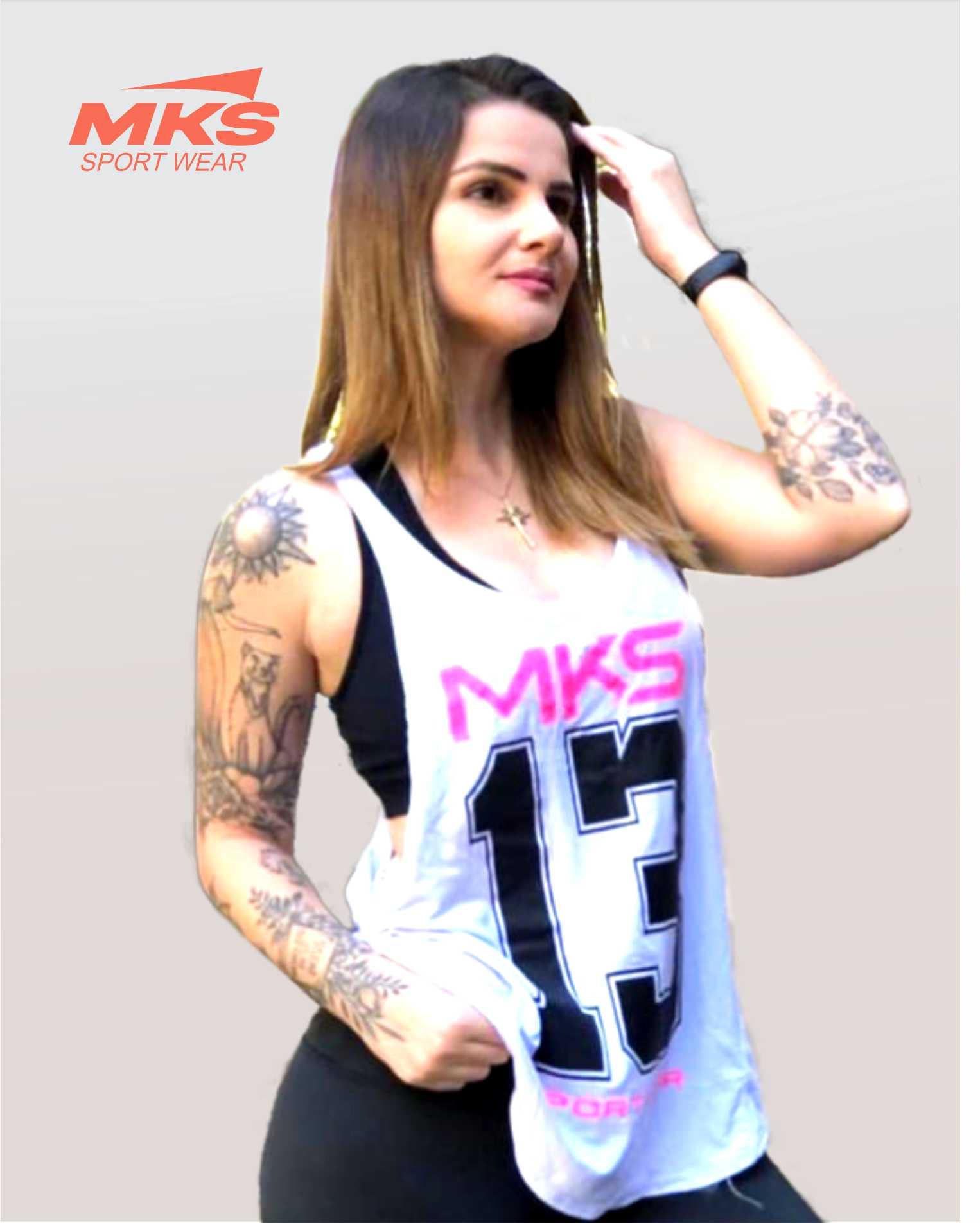 Blusa Academia Camiseta Cavada Fitness - 13