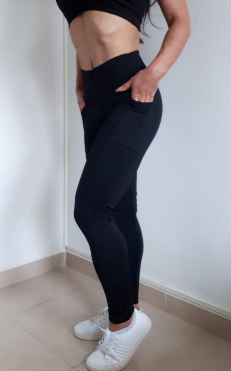 Calça Legging Feminina Fitness -Com Bolso