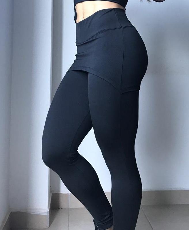 Calça Legging Fitness Feminina -  Tapa Bumbum