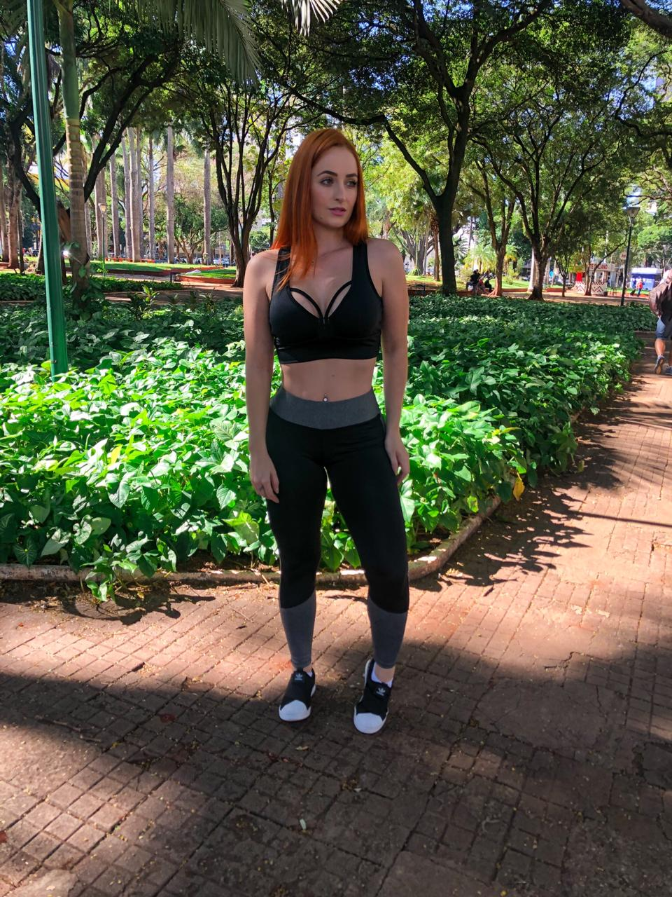 Top Fitness Feminino - Bojo Removível