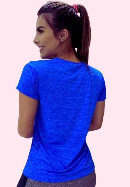 Blusa Mescla Azul
