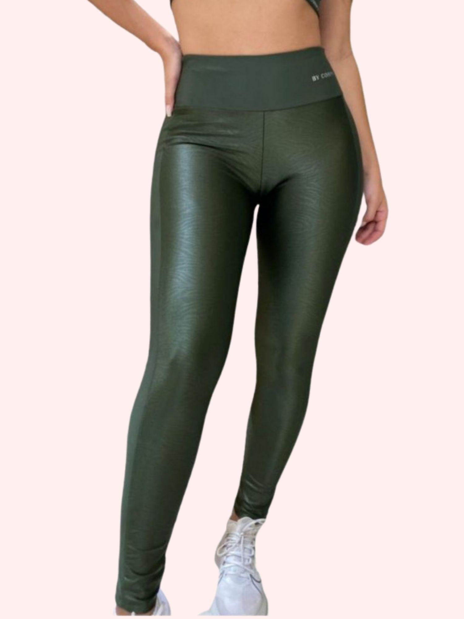 Calça Design Verde