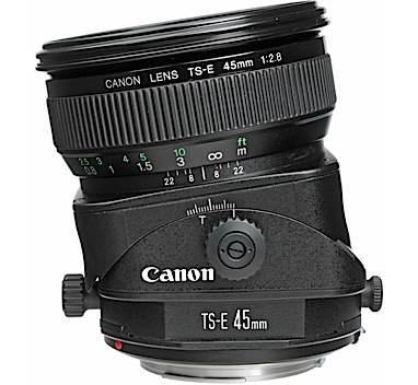 LENTE CANON TS-E 45mm f/2.8