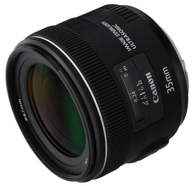 LENTE CANON EF 35mm f/2 IS USM