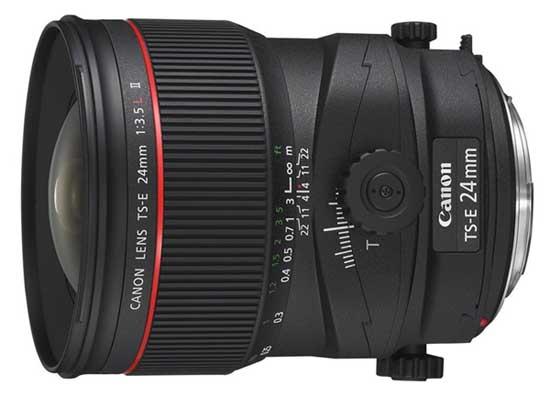 LENTE CANON TS-E 24mm f/3.5L II