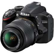 NIKON D3200 KIT 18-55MM -  24MP