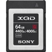 CARTÃO DE MEMÓRIA XQD SONY 64GB G SERIES