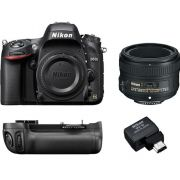 NIKON D610 KIT 50mm F/1.8G +ADAP. WIFI WU-1B + GRIP MB-D14 - 24MP