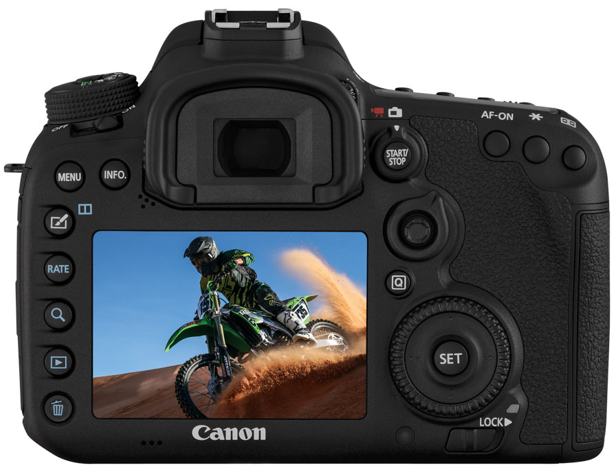 CANON EOS 7D MARK II - CORPO - 20 MP