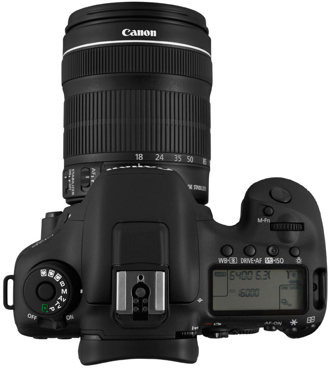CANON EOS 7D MARK II  KIT 18-135MM IS STM - 20 MP