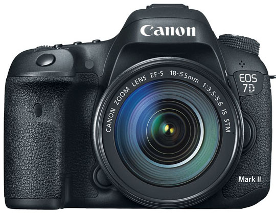CANON EOS 7D MARK II KIT 18-55MM IS STM - 20 MP