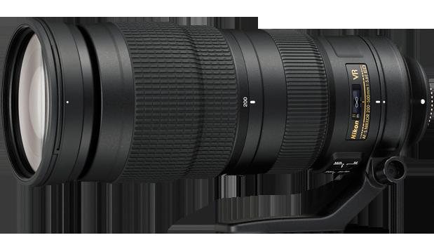 LENTE NIKON 200-500mm f/5.6E ED VR AF-S NIKKOR