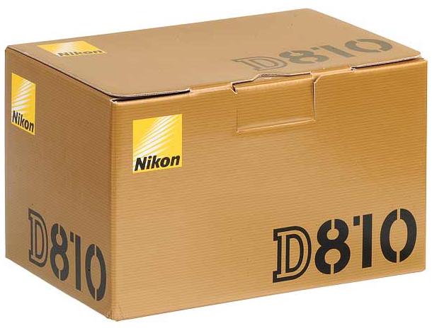 NIKON D810 (Corpo) - 36MP