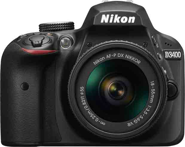 NIKON D3400 KIT 18-55MM - 24MP