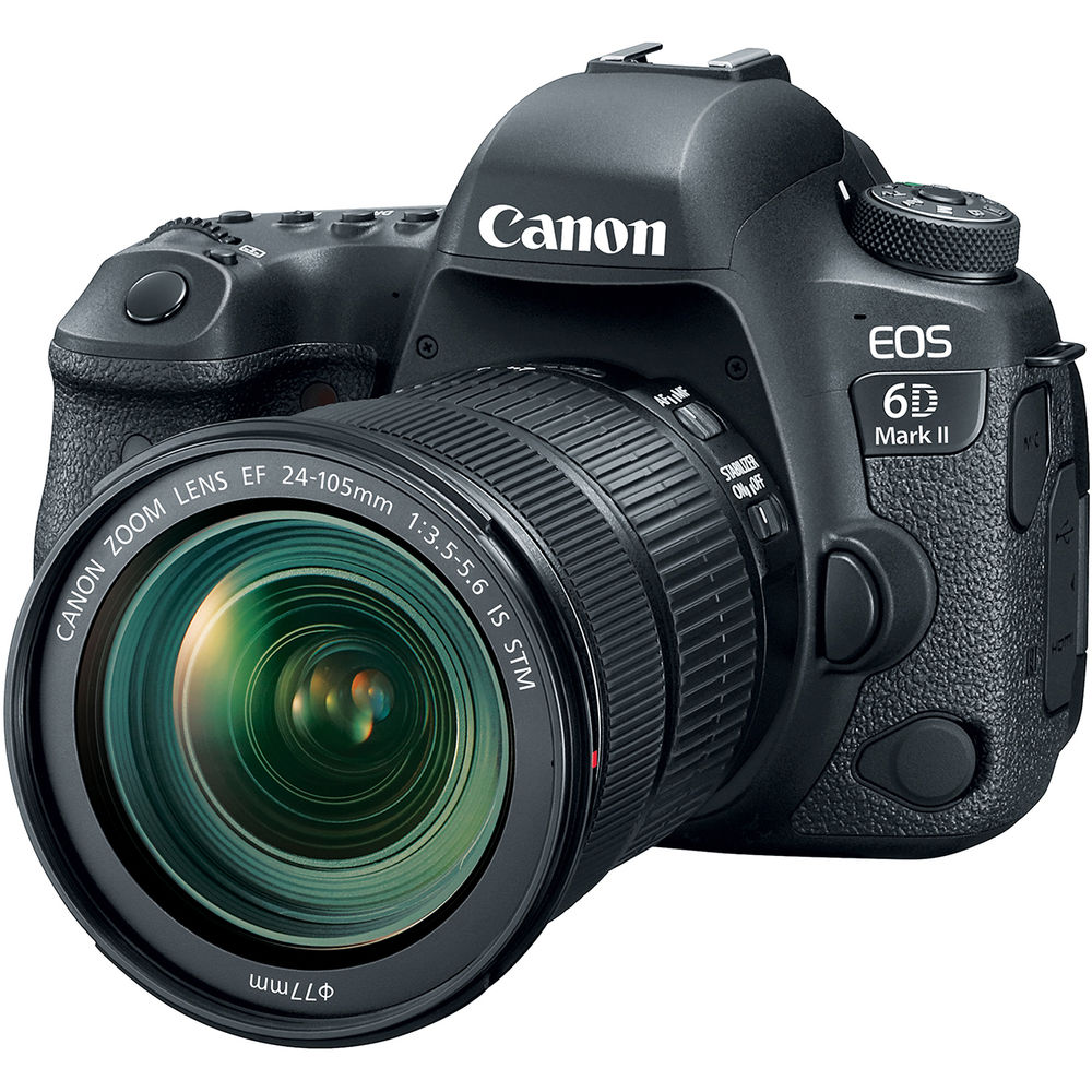 CANON EOS 6D MARK II KIT 24-105MM IS STM - 26 MP