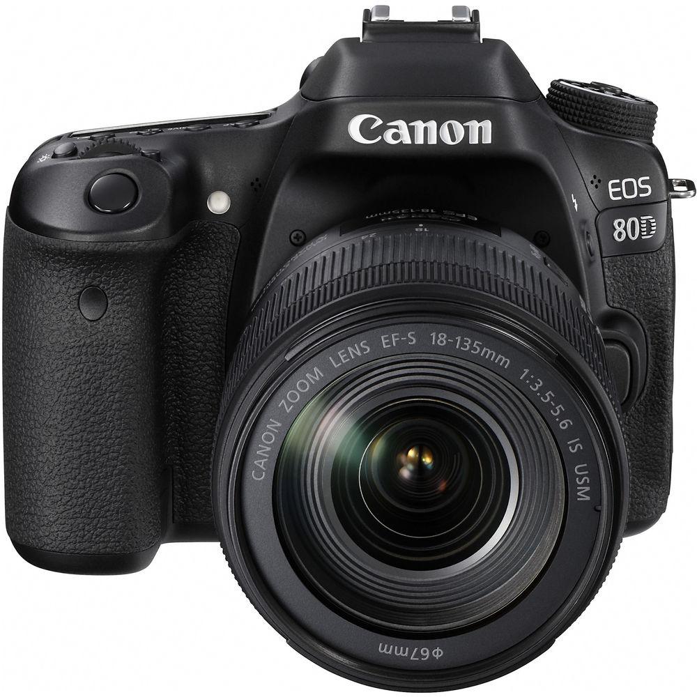 CANON EOS 80D KIT 18-135MM - 24MP