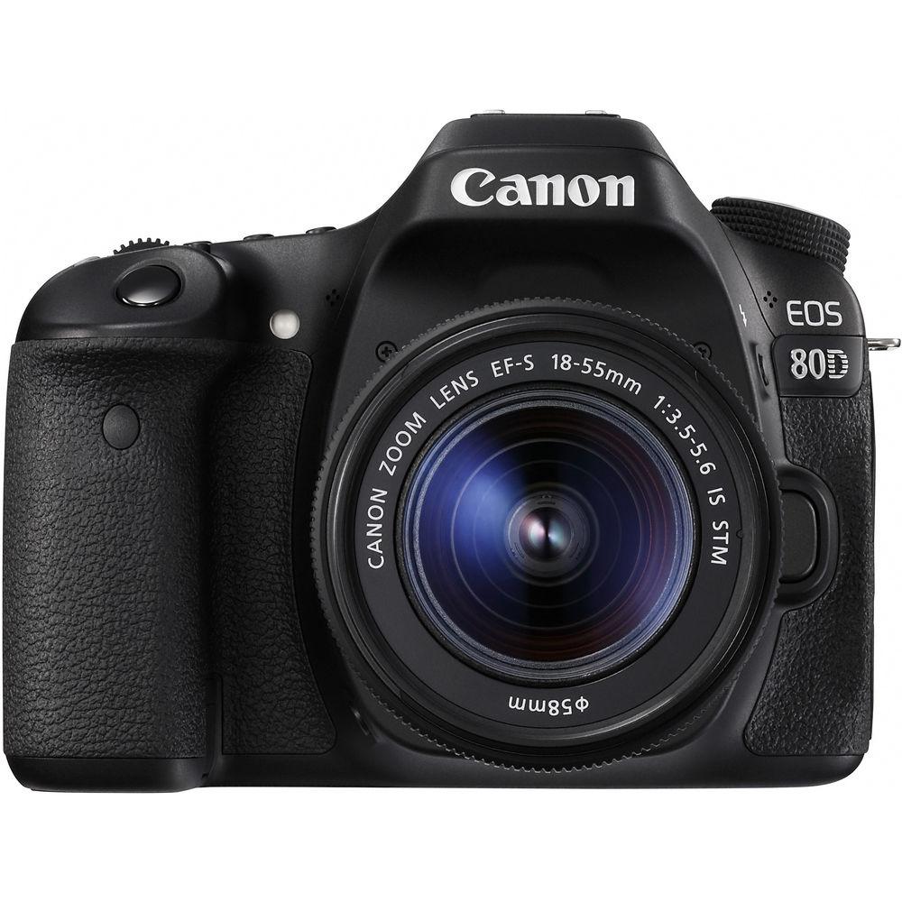 CANON EOS 80D KIT 18-55MM 24MP