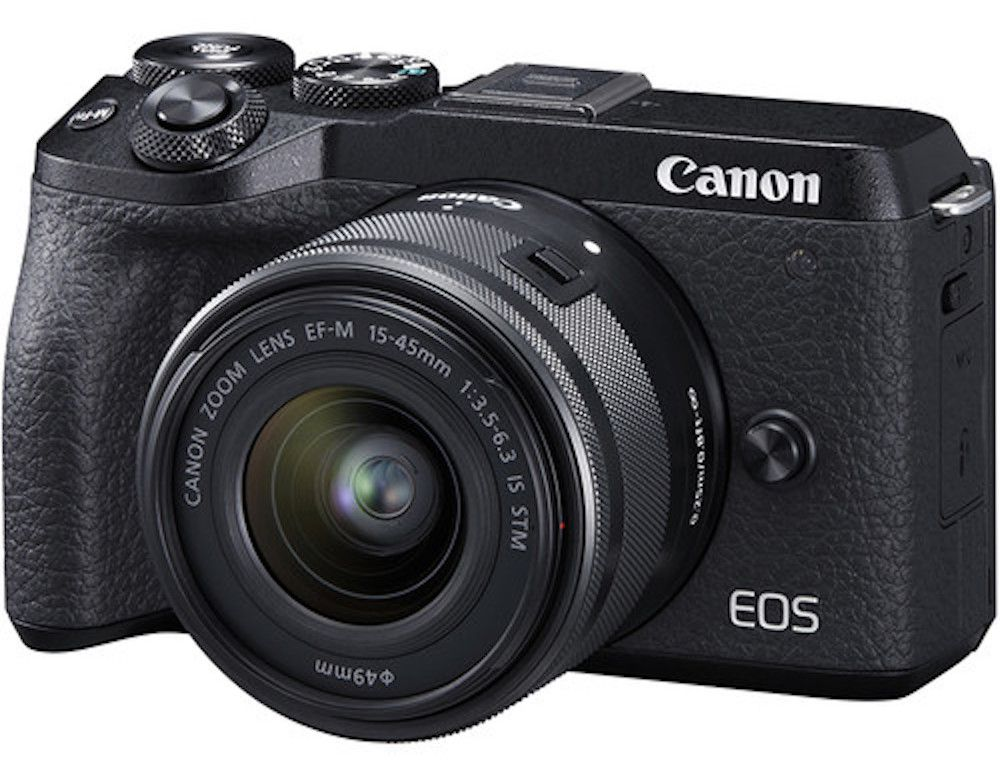 CANON EOS M6 MARK II KIT 15-45mm F/3.5-6.3 IS STM - 32.5MP