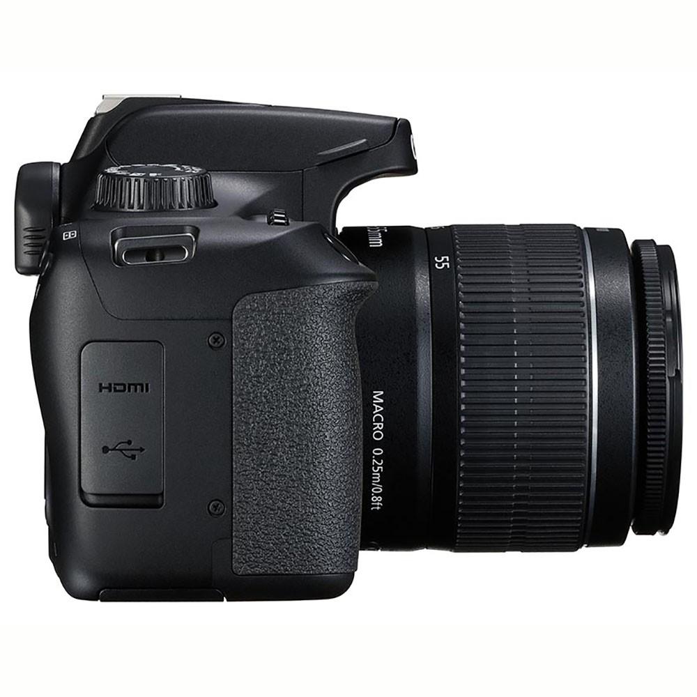 CANON EOS REBEL T100 PREMIUM KIT  EF-S 18-55mm + EF-S 55-250mm