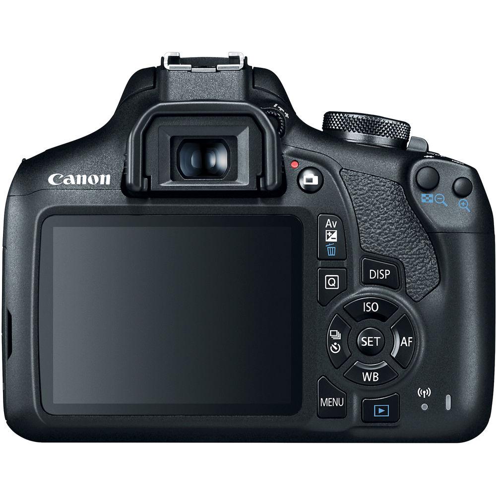 CANON EOS REBEL T7 PREMIUM KIT EF-S 18-55mm + EF-S 55-250mm