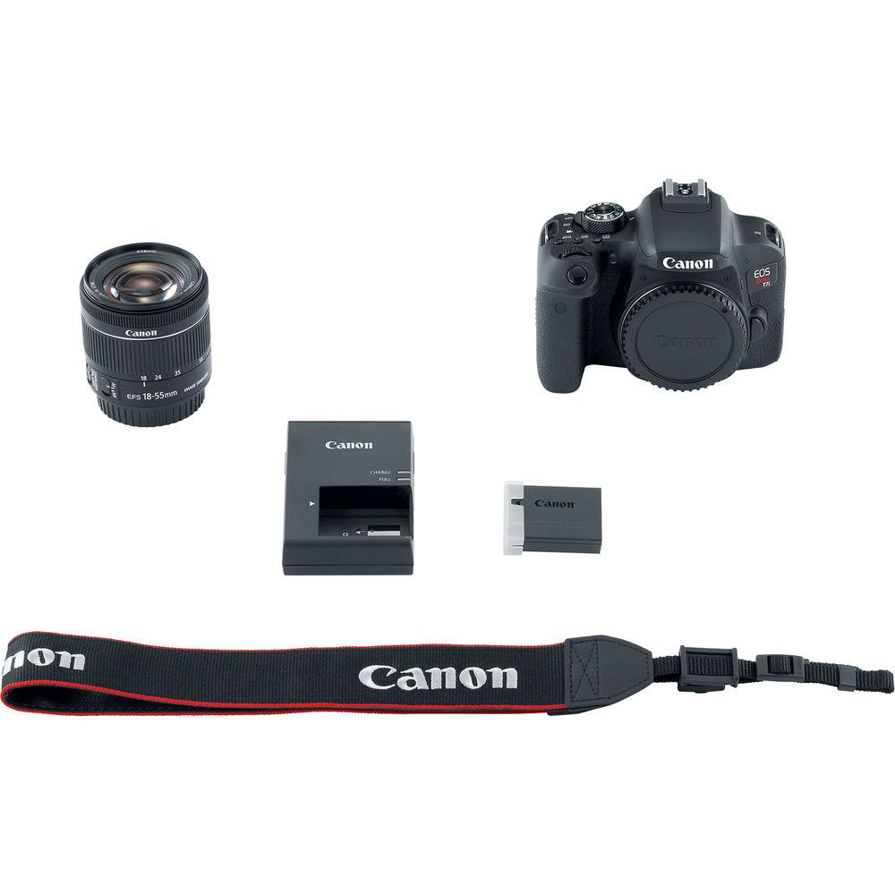 CANON EOS REBEL T7i KIT 18-55mm IS STM 24MP