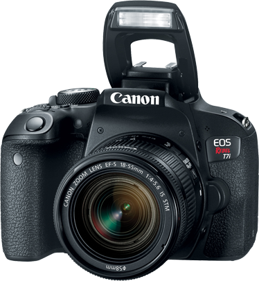 CANON EOS REBEL T7i KIT 18-55mm IS STM 24MP