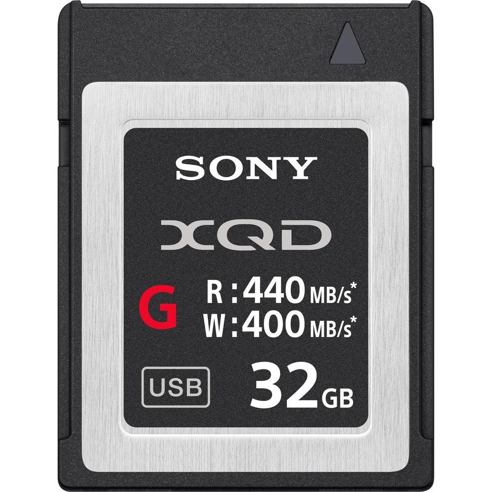 CARTÃO DE MEMÓRIA XQD SONY 32GB G SERIES