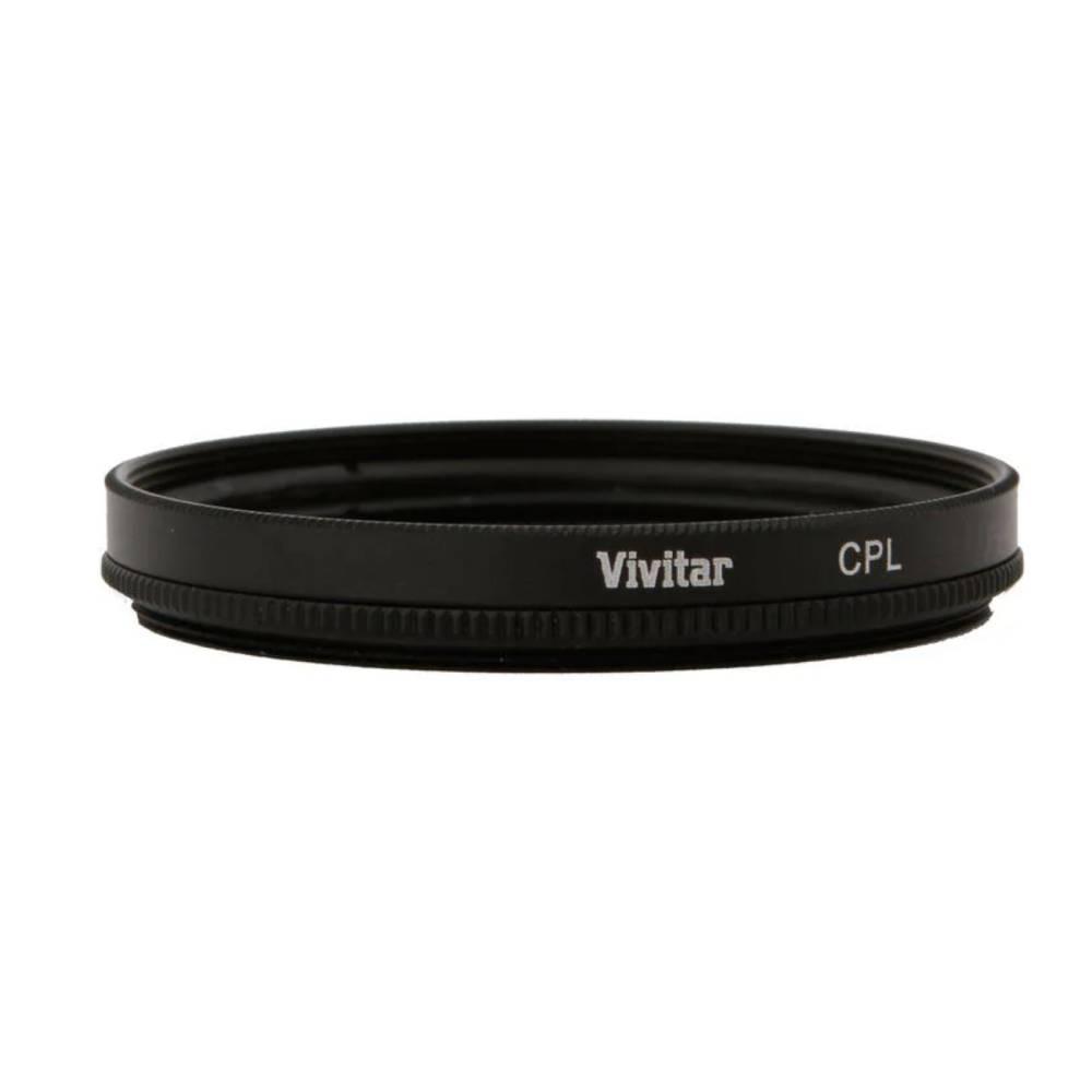 FILTRO CIRCULAR POLARIZADOR (CPL) VIVCPL58 - 58MM VIVITAR