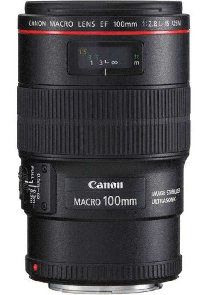 LENTE CANON EF 100mm f/2.8L IS USM MACRO