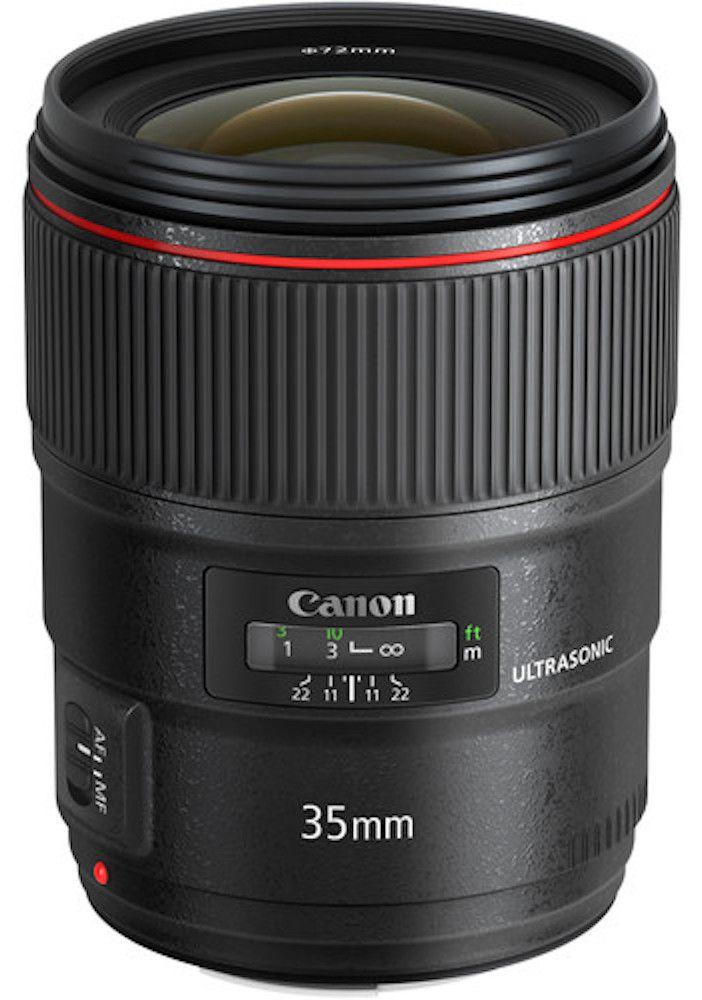 LENTE CANON EF 35mm F/1.4l II USM