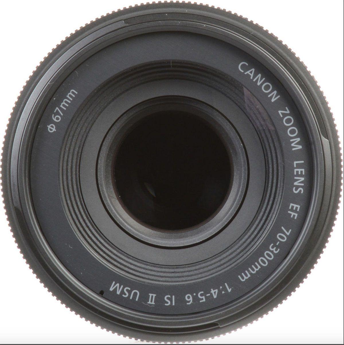 LENTE CANON EF 70-300MM F/4-5.6 IS II USM