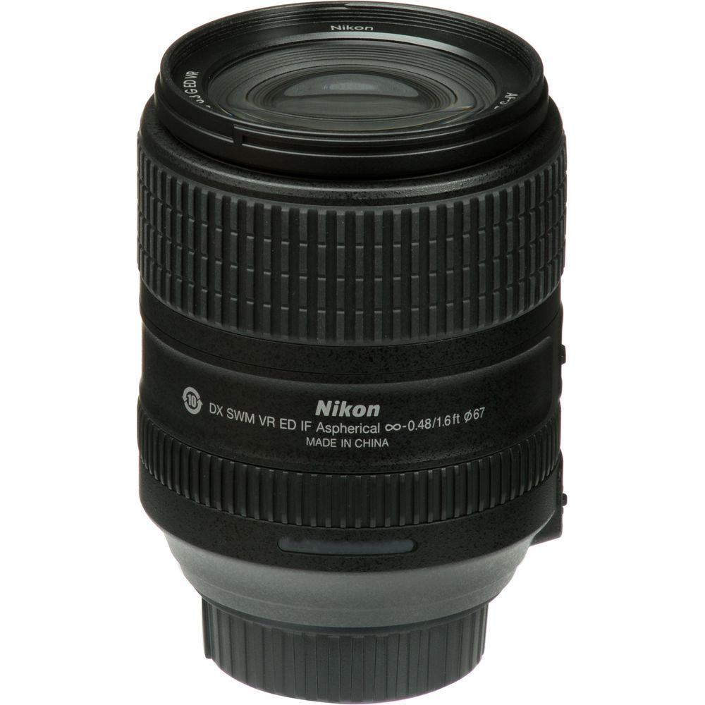 LENTE NIKON 18-300mm f/3.5-6.3G ED VR AF-S DX NIKKOR