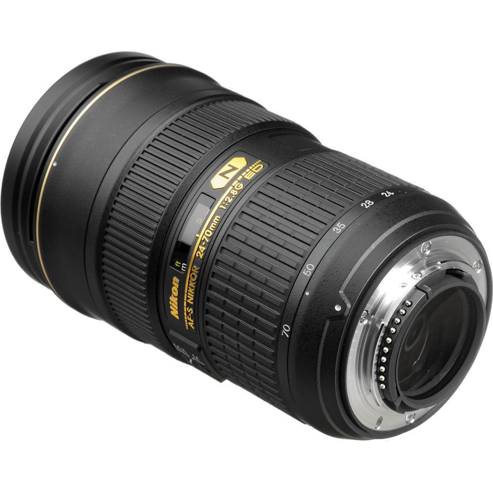 LENTE NIKON 24-70mm f/2.8G ED AF-S NIKKOR