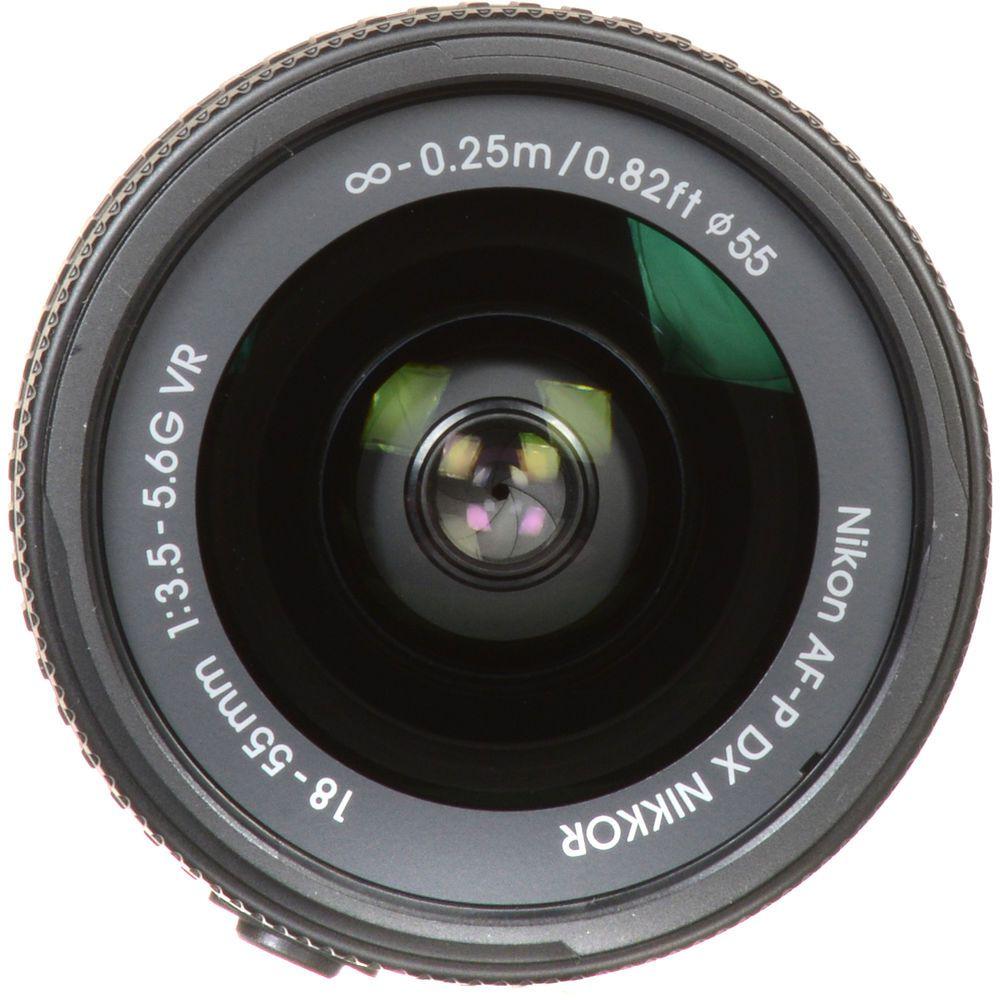 LENTE NIKON AF-P 18-55mm F/3.5-5.6G VR DX