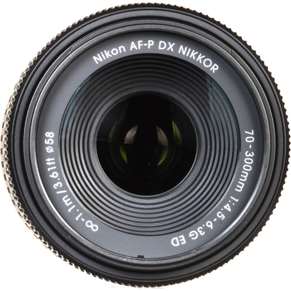 LENTE NIKON AF-P DX NIKKOR 70-300MM F/4.5-6.3G ED
