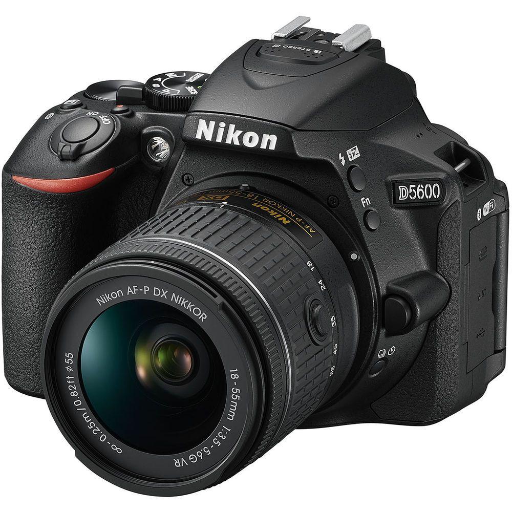 NIKON D5600 KIT 18-55mm VR - 24MP