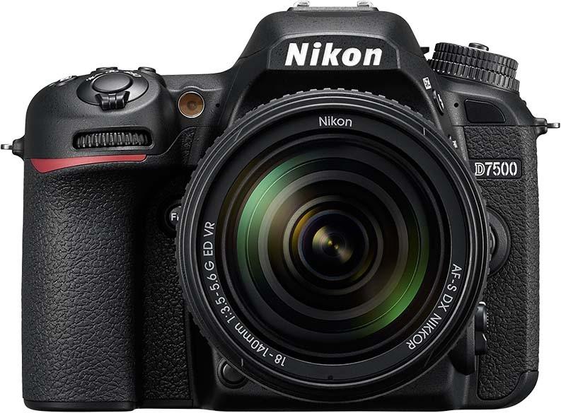 NIKON D7500 KIT 18-140mm VR - 20MP