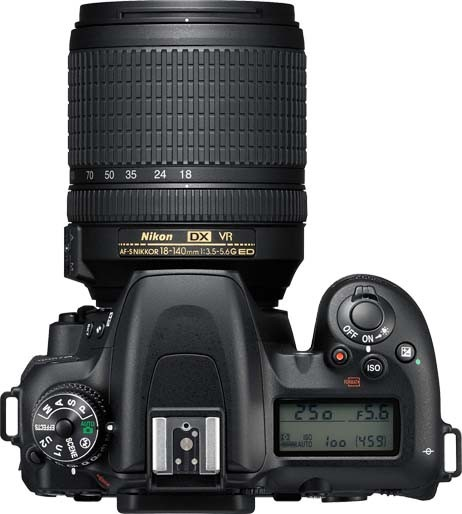 NIKON D7500 KIT 18-140mm VR - 20MP